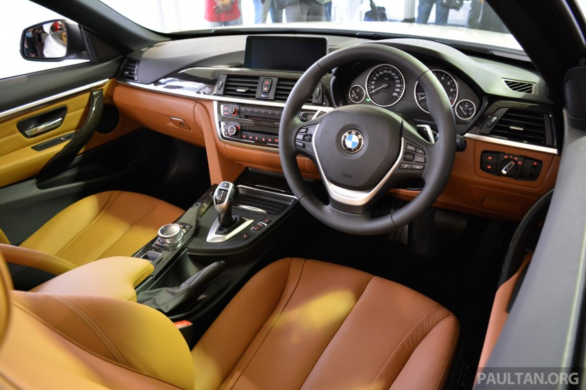 BMW 4 Series Convertible launched – 428i, RM429k Image #241618