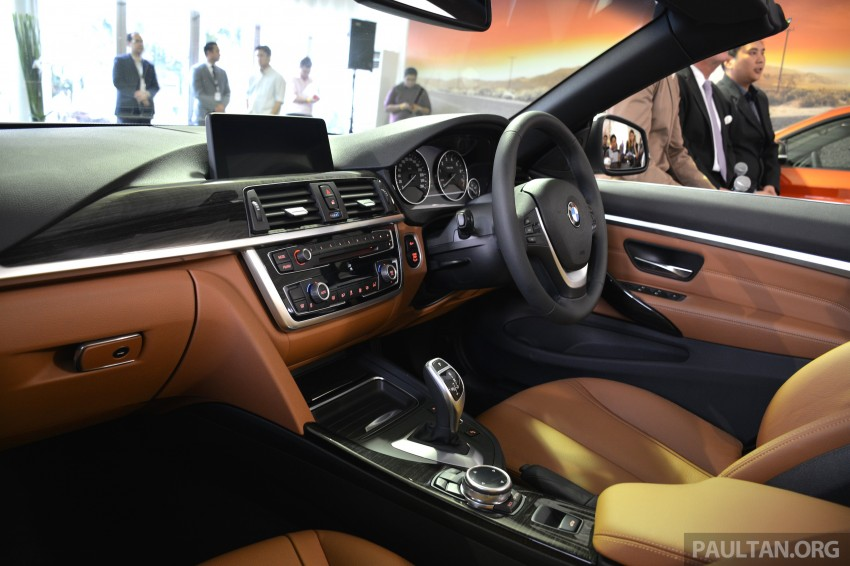 BMW 4 Series Convertible launched – 428i, RM429k Image #241619