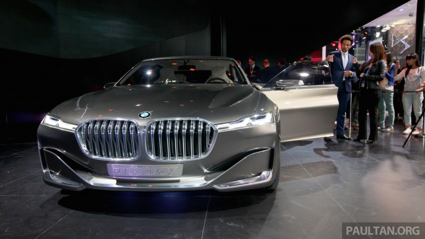 Beijing 2014: BMW Vision Future Luxury in the flesh Image #242927