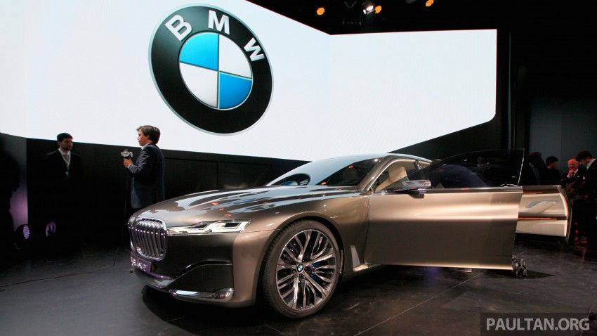 Beijing 2014: BMW Vision Future Luxury in the flesh Image #242929