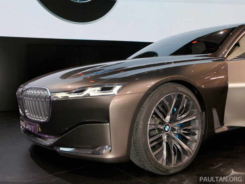 Beijing 2014: BMW Vision Future Luxury in the flesh Image #242930