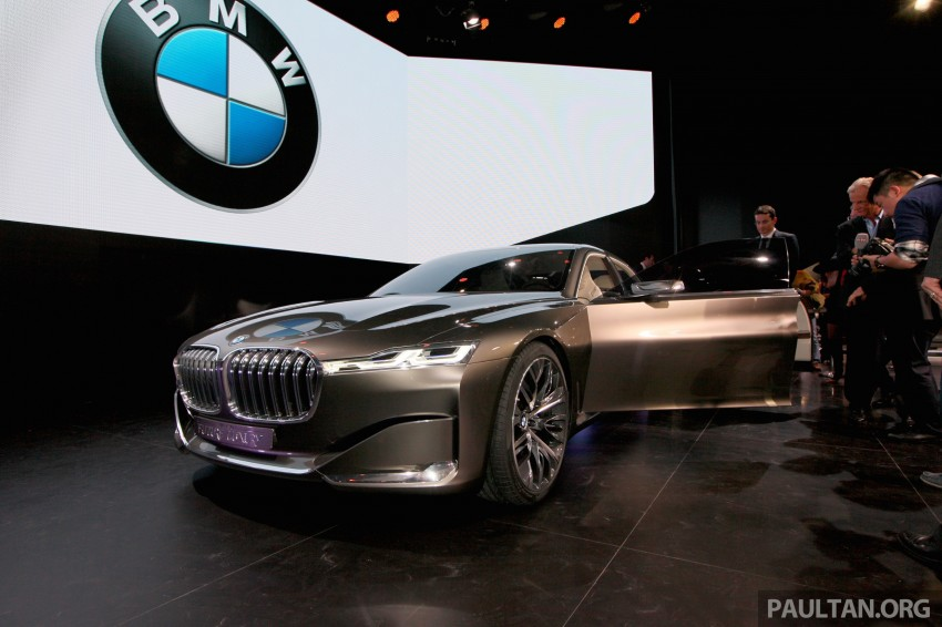 Beijing 2014: BMW Vision Future Luxury in the flesh Image #242932