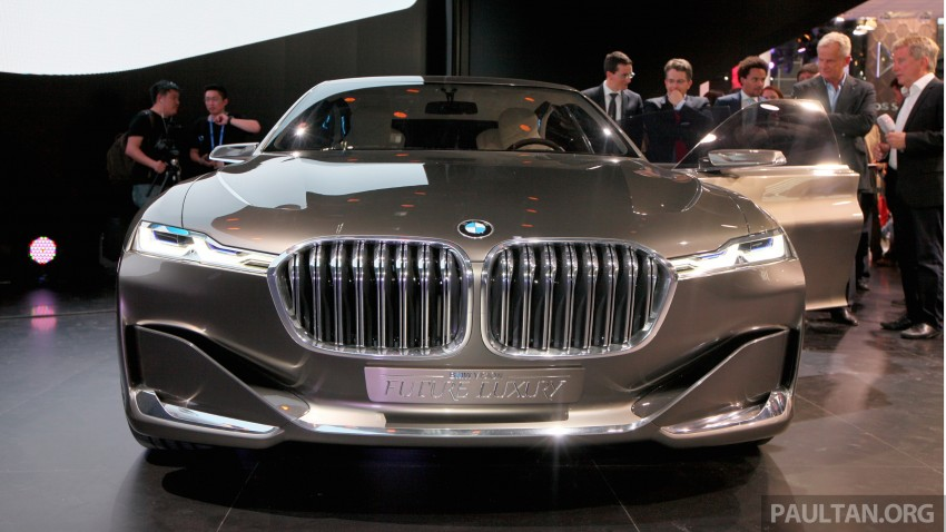 Beijing 2014: BMW Vision Future Luxury in the flesh Image #242933