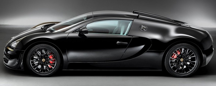 Bugatti Veyron Black Bess – fifth in the Legends series Image #243382