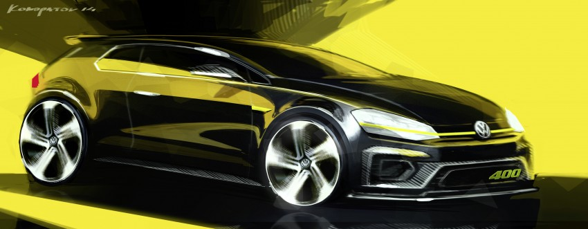 Volkswagen Golf R 400 Concept premieres in China Image #242632