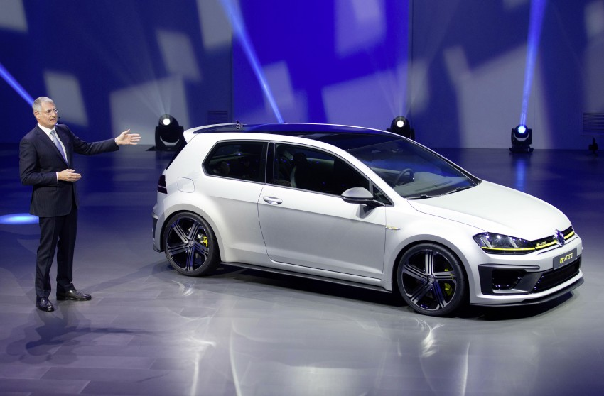 Volkswagen Golf R 400 Concept premieres in China Image #242643