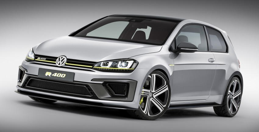 Volkswagen Golf R 400 Concept premieres in China Image #242640