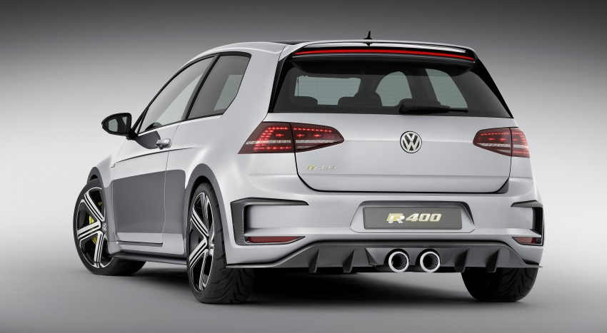 Volkswagen Golf R 400 Concept premieres in China Image #242637