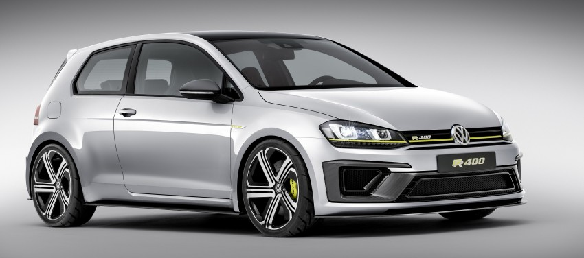 Volkswagen Golf R 400 Concept premieres in China Image #242641