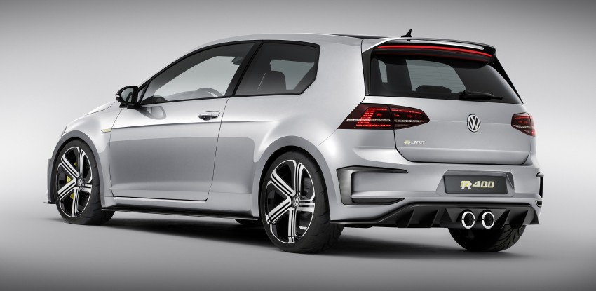 Volkswagen Golf R 400 Concept premieres in China Image #242638