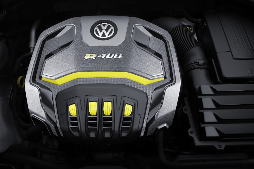 Volkswagen Golf R 400 Concept premieres in China Image #242636