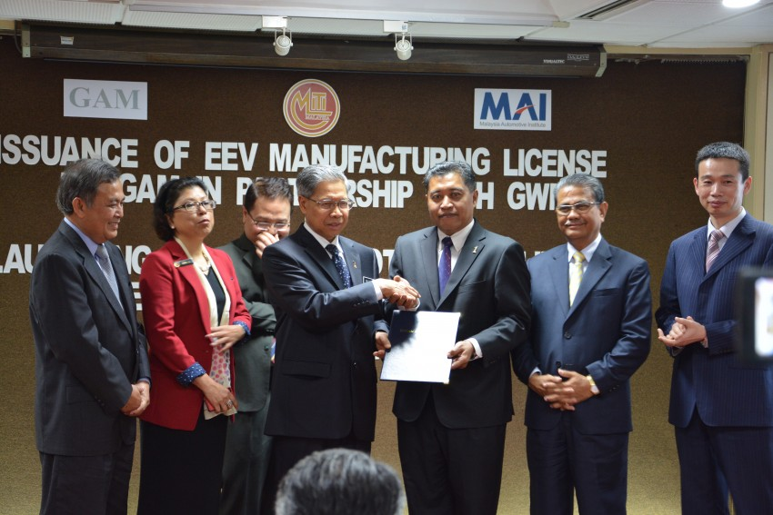 First EEV manufacturing license issued to GAM for Great Wall Motors products, the Haval M4 and H6 Image #240096