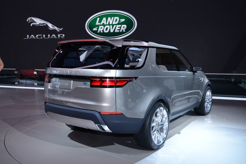 Land Rover Discovery Vision previews new family Image #243009