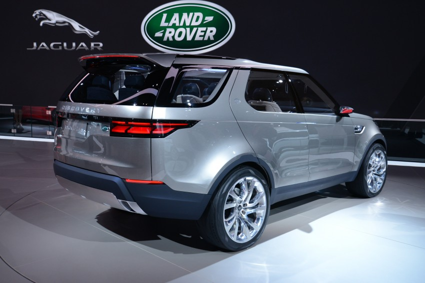 Land Rover Discovery Vision previews new family Image #243010