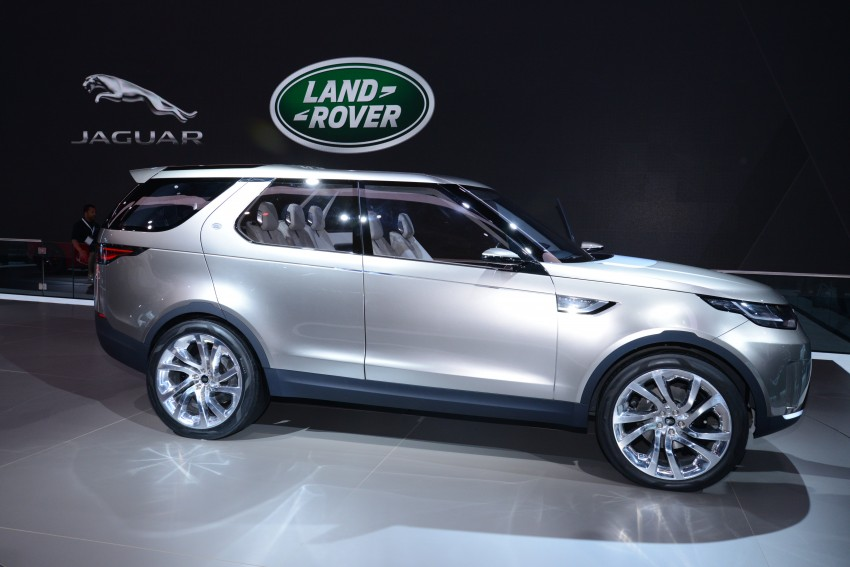Land Rover Discovery Vision previews new family Image #243011