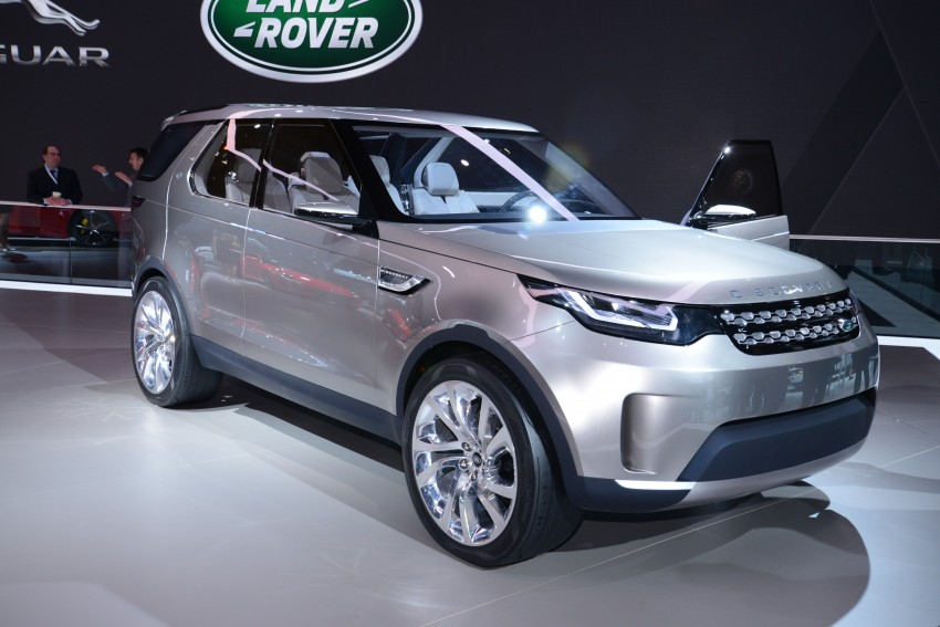 Land Rover Discovery Vision previews new family Image #243013