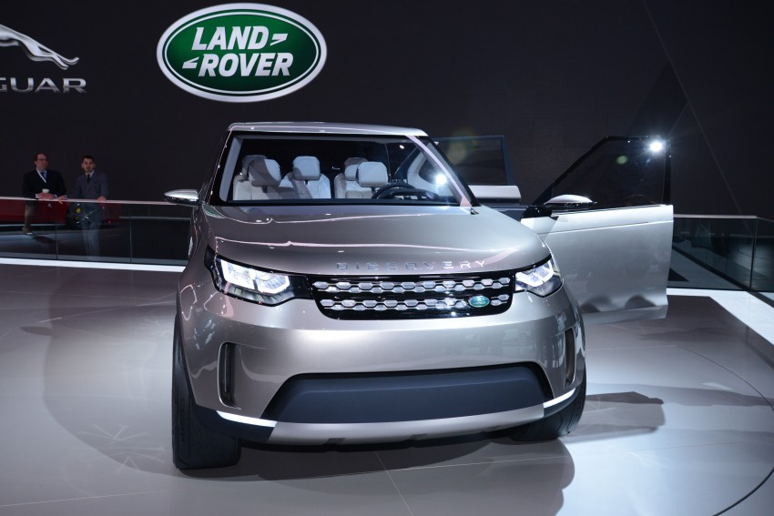 Land Rover Discovery Vision previews new family Image #243005