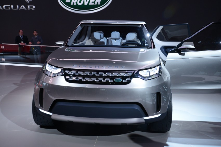 Land Rover Discovery Vision previews new family Image #243007
