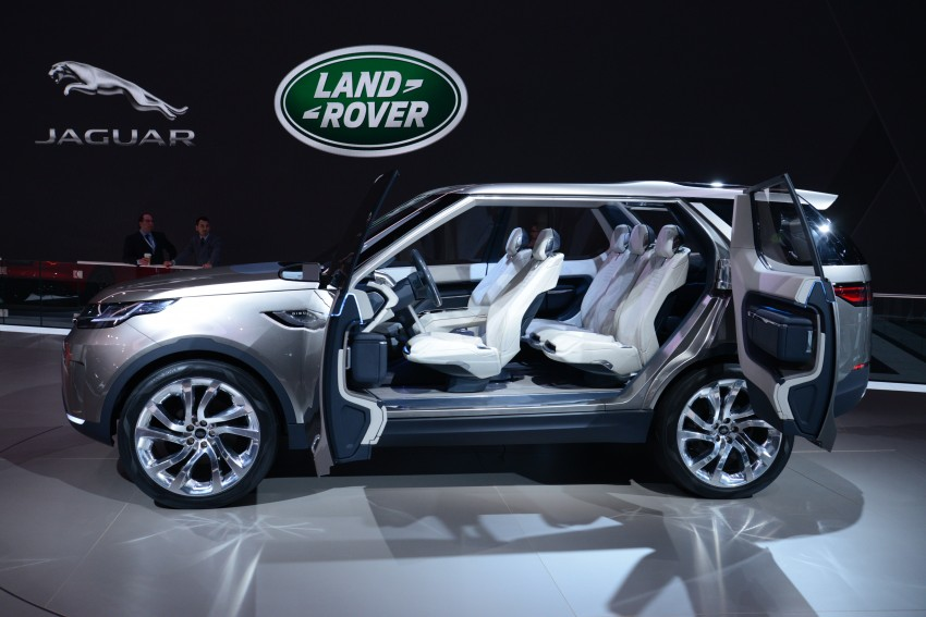 Land Rover Discovery Vision previews new family Image #243008