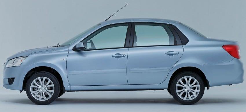 Datsun on-DO sedan – based on Lada, made in Russia Image #240063