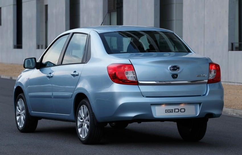 Datsun on-DO sedan – based on Lada, made in Russia Image #240065