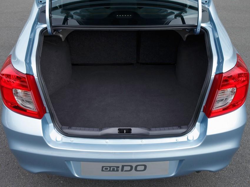 Datsun on-DO sedan – based on Lada, made in Russia Image #240067