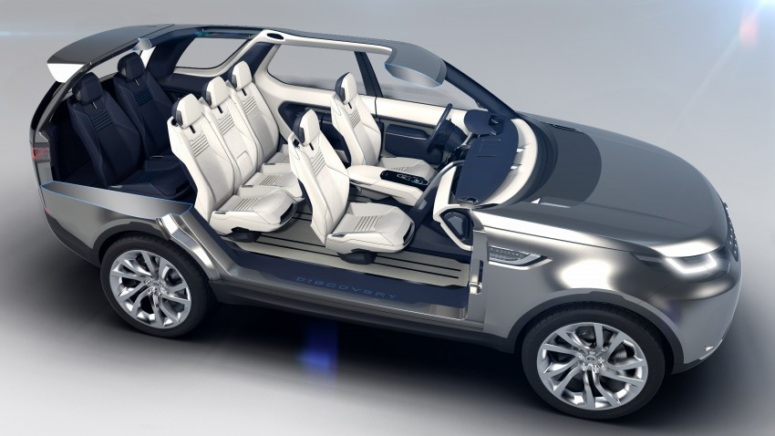Land Rover Discovery Vision previews new family Image #241135