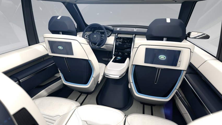 Land Rover Discovery Vision previews new family Image #241136
