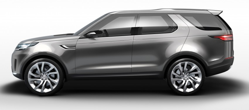 Land Rover Discovery Vision previews new family Image #241120