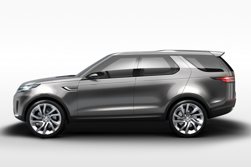 Land Rover Discovery Vision previews new family Image #241125