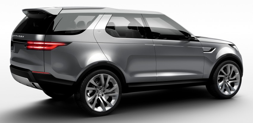 Land Rover Discovery Vision previews new family Image #241121
