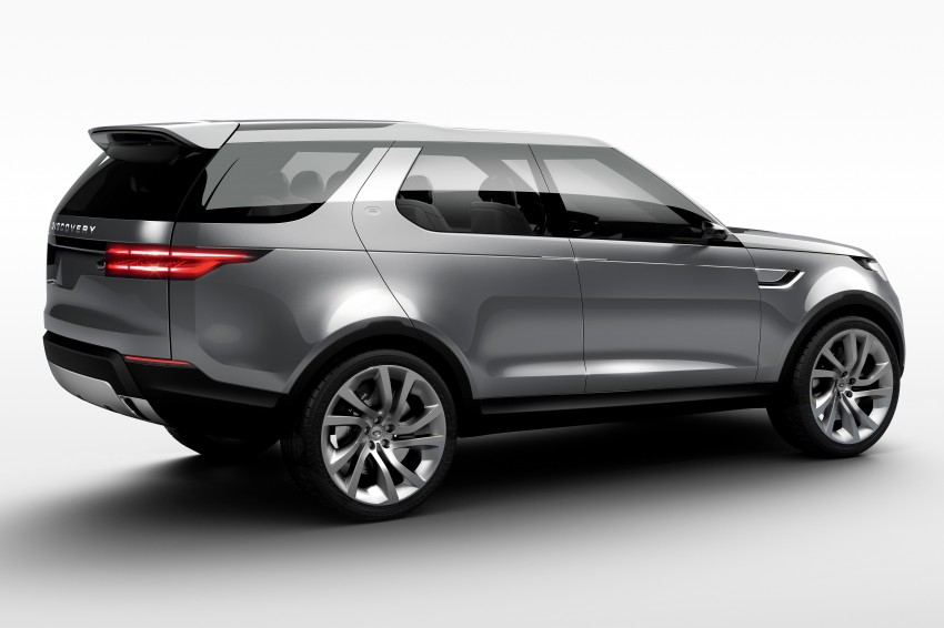 Land Rover Discovery Vision previews new family Image #241126