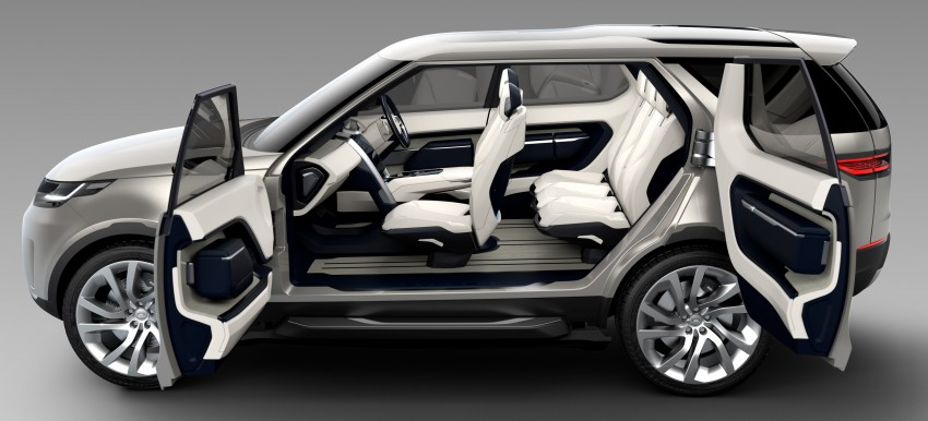 Land Rover Discovery Vision previews new family Image #241122