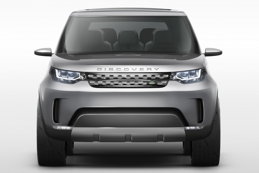 Land Rover Discovery Vision previews new family Image #241123