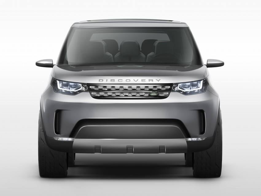 Land Rover Discovery Vision previews new family Image #241128