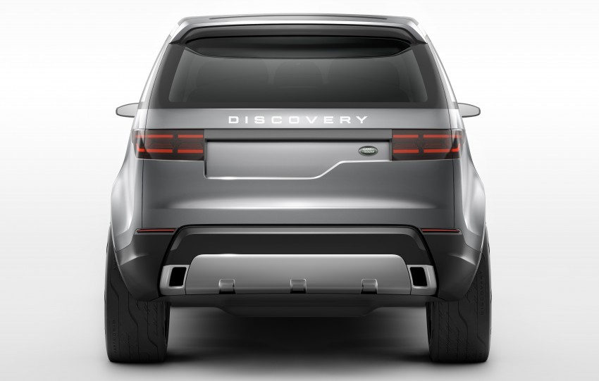 Land Rover Discovery Vision previews new family Image #241124