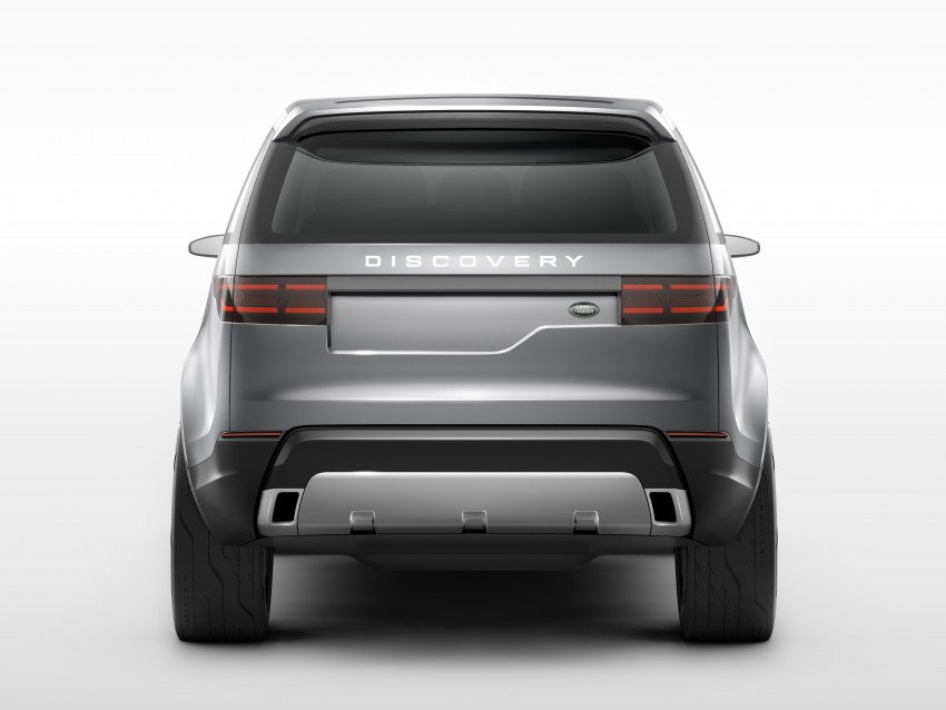 Land Rover Discovery Vision previews new family Image #241129