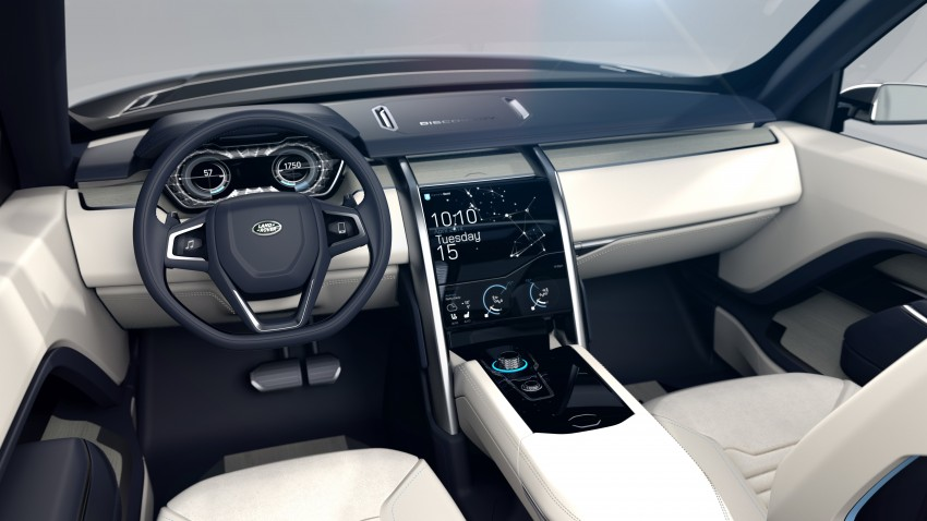 Land Rover Discovery Vision previews new family Image #241134