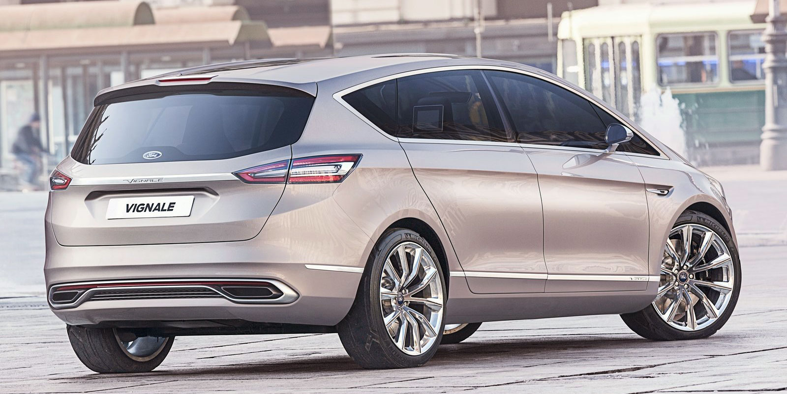 ford smax vignale concept second in the luxury line paul