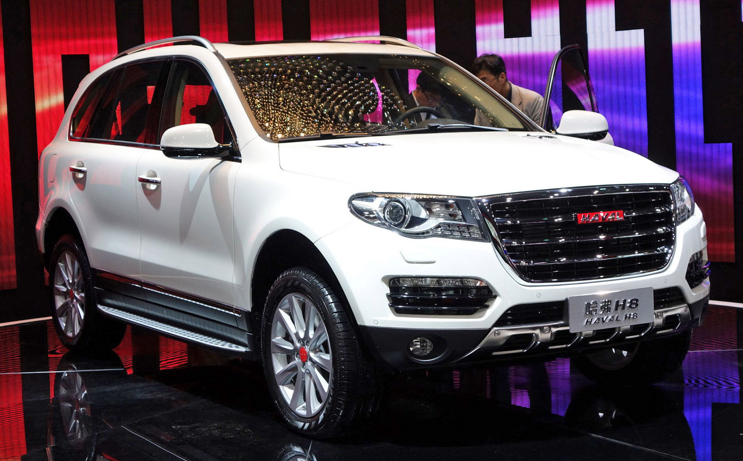 great wall haval h8 suv sales of flagship to resume. Black Bedroom Furniture Sets. Home Design Ideas