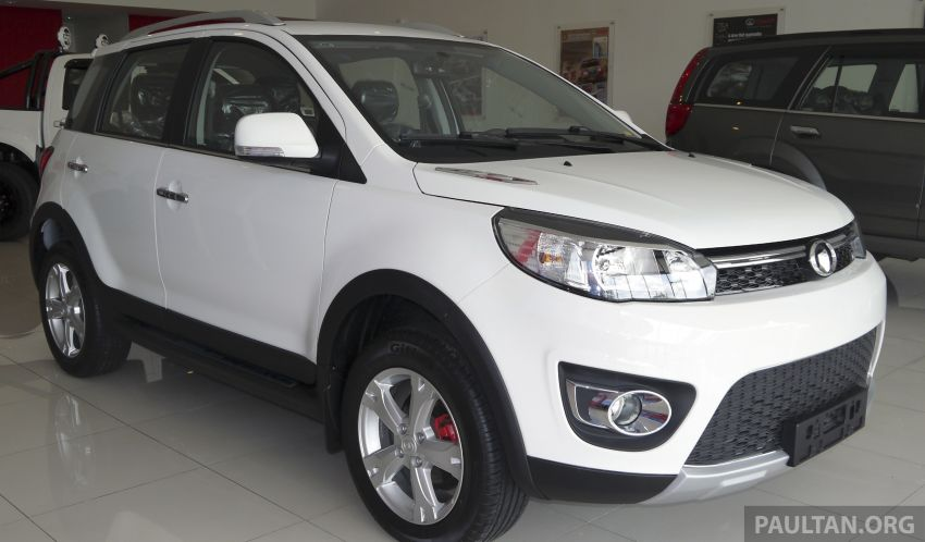 First EEV manufacturing license issued to GAM for Great Wall Motors products, the Haval M4 and H6 Image #240097