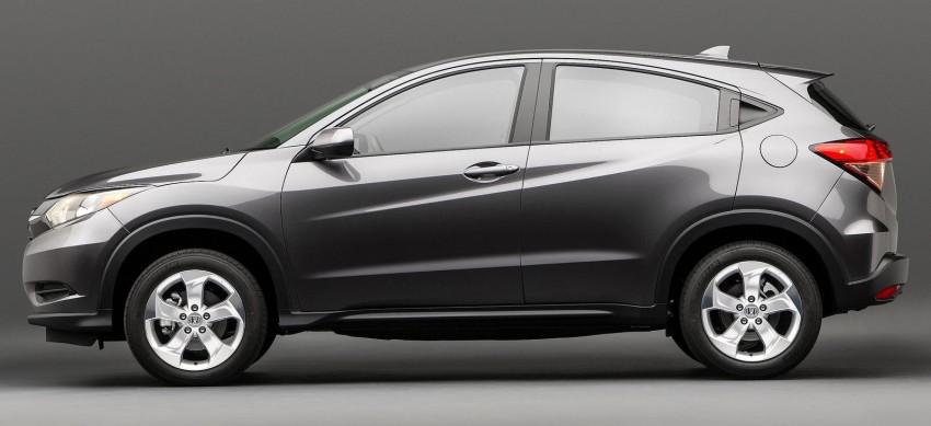 Honda HR-V – official pics of US-market Vezel shown Image #242300
