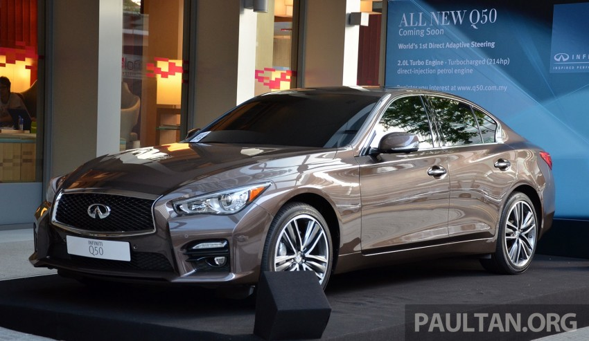 GALLERY: Infiniti Q50 on display at Aloft KL Sentral Image #244429
