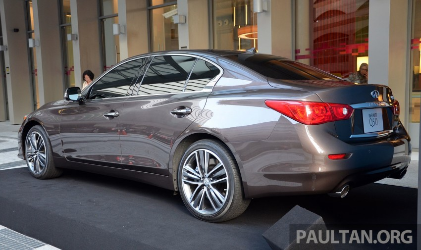 GALLERY: Infiniti Q50 on display at Aloft KL Sentral Image #244428
