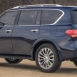 2015 Infiniti QX80 Press Photography