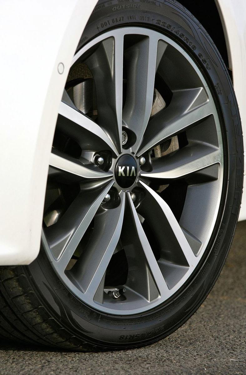 Kia Optima facelift – sole 1.7L U2 diesel choice for UK Image #239639