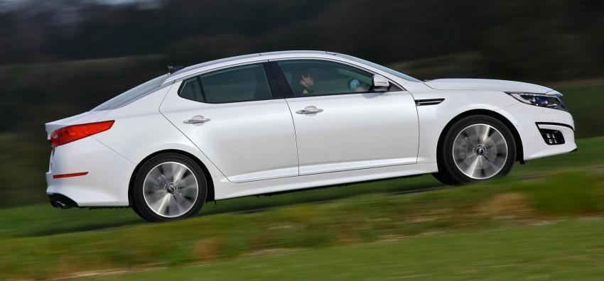 Kia Optima facelift – sole 1.7L U2 diesel choice for UK Image #239640