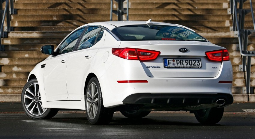 Kia Optima facelift – sole 1.7L U2 diesel choice for UK Image #239641
