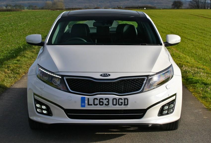 Kia Optima facelift – sole 1.7L U2 diesel choice for UK Image #239643