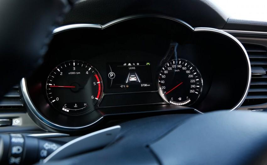 Kia Optima facelift – sole 1.7L U2 diesel choice for UK Image #239649